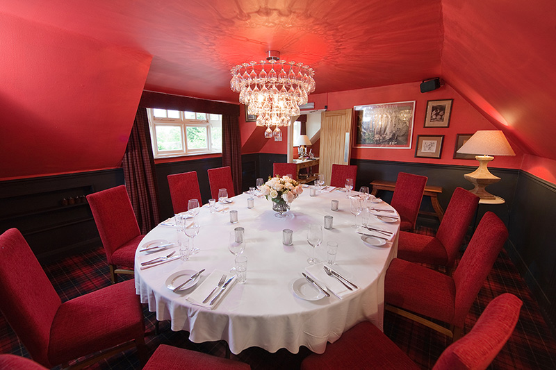 Private Dining at The Punch Bowl Inn
