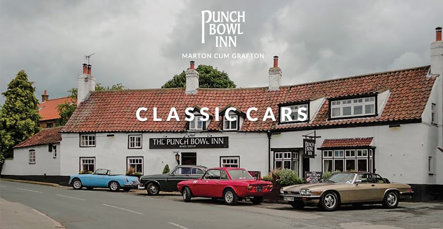 Classic Cars at The Punch Bowl, Marton-cum-Grafton